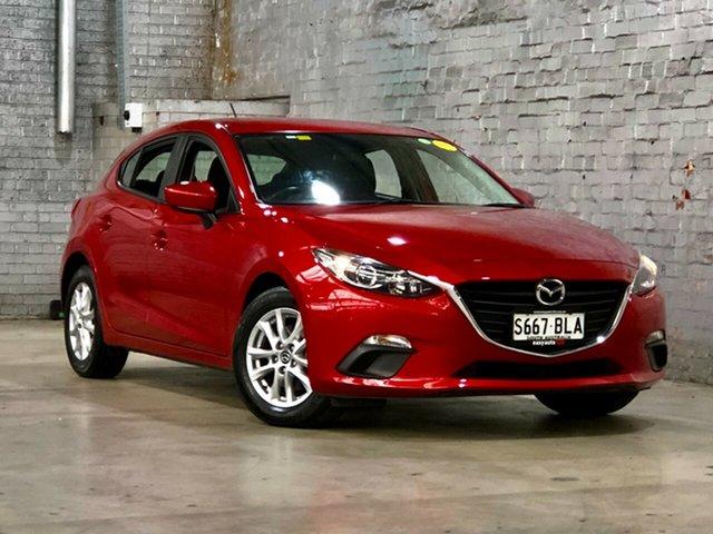 Used Mazda 3 BM5478 Neo SKYACTIV-Drive Mile End South, 2016 Mazda 3 BM5478 Neo SKYACTIV-Drive Red 6 Speed Sports Automatic Hatchback