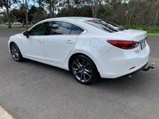 2015 Mazda 6 GJ Series 2 Atenza White Sports Automatic Sedan.