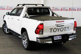 2015 Toyota Hilux GUN126R SR5 (4x4) Crystal Pearl 6 Speed Manual Dual Cab Utility.