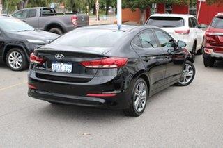 2016 Hyundai Elantra AD MY17 Active Black 6 Speed Sports Automatic Sedan