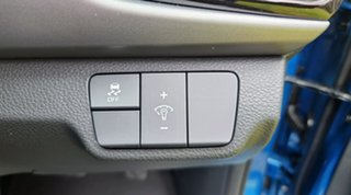 2021 Kia Rio YB MY22 SX Sporty Blue 6 Speed Automatic Hatchback