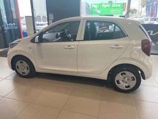 2021 Kia Picanto JA MY22 S Clear White 4 Speed Automatic Hatchback.