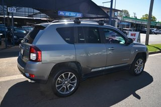 2013 Jeep Compass MK MY14 Limited (4x4) Grey 6 Speed Automatic Wagon.