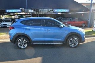 2017 Hyundai Tucson TL MY18 Active X (FWD) Blue 6 Speed Automatic Wagon.