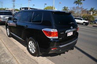 2013 Toyota Kluger GSU40R MY13 Upgrade KX-R (FWD) 7 Seat Black 5 Speed Automatic Wagon.
