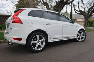 2012 Volvo XC60 DZ MY13 T6 Geartronic AWD R-Design White 6 Speed Sports Automatic Wagon.
