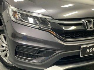 2016 Honda CR-V RM Series II MY17 VTi Modern Steel 6 Speed Manual Wagon.