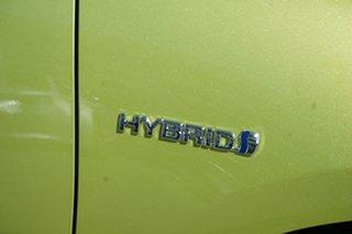 2016 Toyota Prius c NHP10R E-CVT Green 1 Speed Constant Variable Hatchback Hybrid