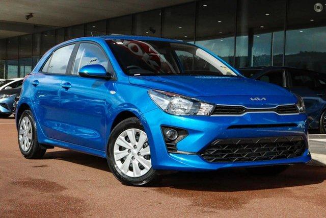 New Kia Rio YB MY22 S Reynella, 2021 Kia Rio YB MY22 S Blue 6 Speed Automatic Hatchback