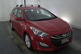 2013 Hyundai i30 GD Active Tourer Red 6 Speed Manual Wagon.