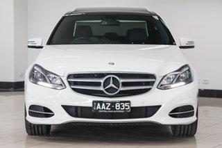 2014 Mercedes-Benz E-Class W212 805MY E220 CDI 7G-Tronic + Polar White 7 Speed Sports Automatic