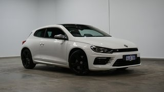 2015 Volkswagen Scirocco 1S MY15 R Coupe DSG White 6 Speed Sports Automatic Dual Clutch Hatchback.