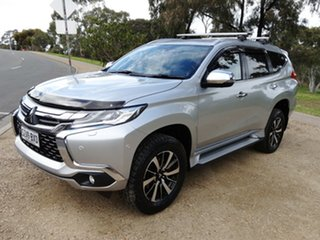 2018 Mitsubishi Pajero Sport QE MY18 Exceed Silver 8 Speed Sports Automatic Wagon.
