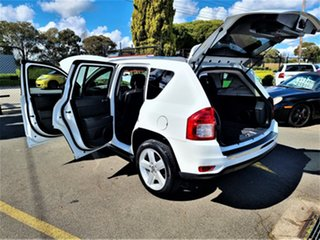 2013 Jeep Compass MK MY13 Limited CVT Auto Stick White 6 Speed Constant Variable Wagon