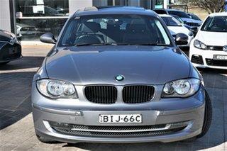 2009 BMW 118i E87 MY09 118i Grey 6 Speed Automatic Hatchback.