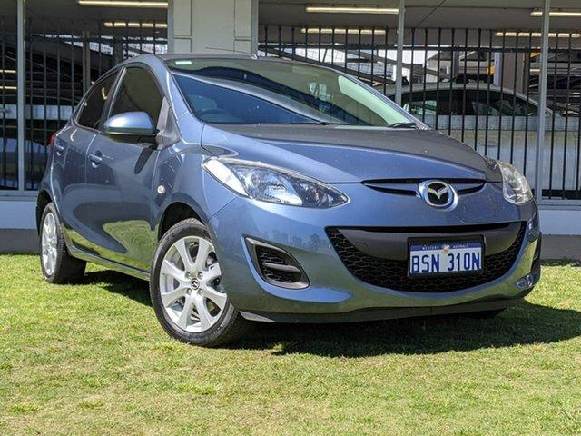 Used Mazda 2 DE10Y2 MY14 Neo Sport Victoria Park, 2013 Mazda 2 DE10Y2 MY14 Neo Sport Blue 5 Speed Manual Hatchback