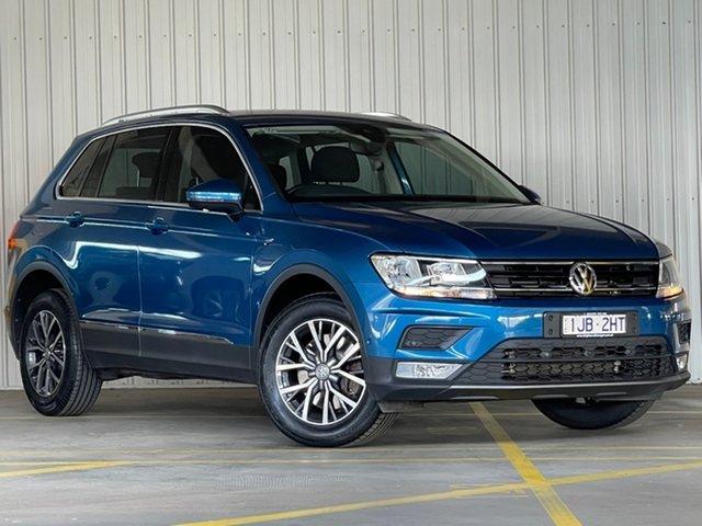 Used Volkswagen Tiguan 5N MY17 132TSI DSG 4MOTION Comfortline Moorabbin, 2017 Volkswagen Tiguan 5N MY17 132TSI DSG 4MOTION Comfortline Blue 7 Speed