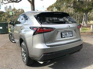 2017 Lexus NX AGZ10R NX200t 2WD Luxury Grey 6 Speed Sports Automatic Wagon