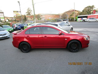 2010 Mitsubishi Lancer CJ MY11 SX Red 5 Speed Manual Sedan