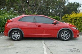 2013 Honda Civic 9th Gen MY13 VTi-S Red 5 Speed Sports Automatic Hatchback.
