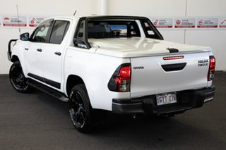 2019 Toyota Hilux GUN126R Rogue Double Cab Crystal Pearl 6 Speed Sports Automatic Utility.
