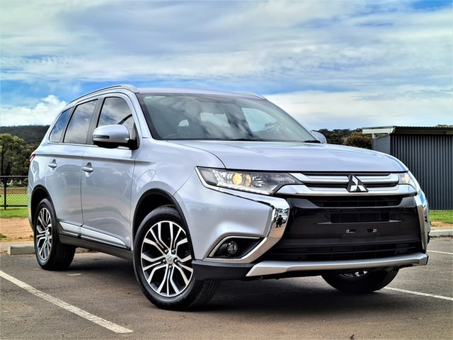 Used Mitsubishi Outlander ZK MY16 LS 4WD St Marys, 2015 Mitsubishi Outlander ZK MY16 LS 4WD Silver 6 Speed Constant Variable Wagon