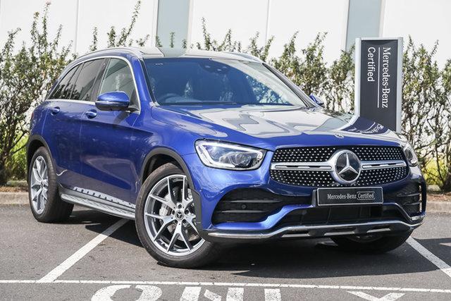 Certified Pre-Owned Mercedes-Benz GLC-Class X253 800+050MY GLC300 9G-Tronic 4MATIC Mulgrave, 2020 Mercedes-Benz GLC-Class X253 800+050MY GLC300 9G-Tronic 4MATIC Brilliant Blue 9 Speed