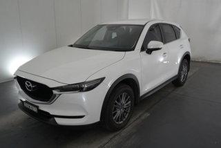 2018 Mazda CX-5 KF4WLA Maxx SKYACTIV-Drive i-ACTIV AWD Sport White 6 Speed Sports Automatic Wagon.