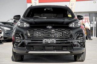 2021 Kia Sportage QL MY21 GT-Line AWD Black 6 Speed Sports Automatic Wagon.