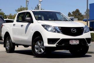 2018 Mazda BT-50 UR0YG1 XT White 6 Speed Sports Automatic Utility.