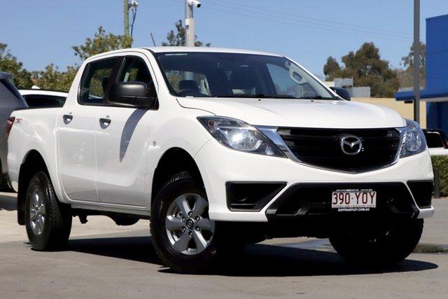 Used Mazda BT-50 UR0YG1 XT Aspley, 2018 Mazda BT-50 UR0YG1 XT White 6 Speed Sports Automatic Utility
