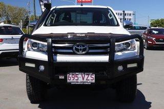 2015 Toyota Hilux GUN126R SR5 Extra Cab White 6 Speed Manual Utility.