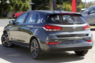 2021 Hyundai i30 PD.V4 MY22 Active Iron Grey 6 Speed Sports Automatic Hatchback.