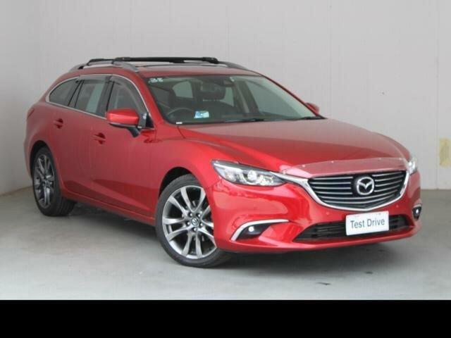 Used Mazda 6 6C MY17 (gl) GT Fyshwick, 2016 Mazda 6 6C MY17 (gl) GT Red 6 Speed Automatic Wagon