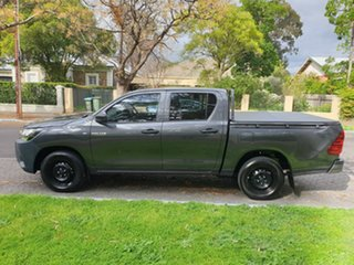 2020 Toyota Hilux TGN121R Workmate Double Cab 4x2 Grey 6 Speed Sports Automatic Utility