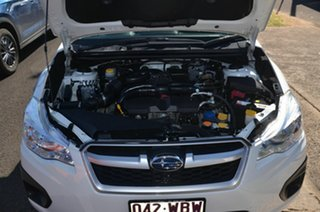 2014 Subaru Impreza MY14 2.0I (AWD) White Continuous Variable Sedan
