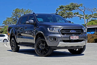 2020 Ford Ranger PX MkIII 2020.75MY Wildtrak Meteor Gre 10 Speed Sports Automatic Double Cab Pick Up.