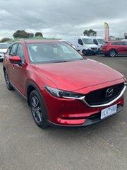 2017 Mazda CX-5 KF4WLA Akera SKYACTIV-Drive i-ACTIV AWD Soul Red 6 Speed Sports Automatic Wagon.