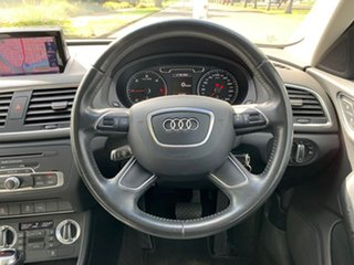2012 Audi Q3 8U TDI Silver Sports Automatic Dual Clutch Wagon