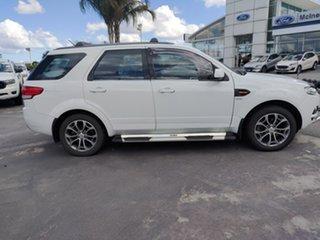 2014 Ford Territory SZ TS Seq Sport Shift AWD Winter White 6 Speed Sports Automatic Wagon.
