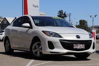 2012 Mazda 3 BL10F2 Neo White 6 Speed Manual Sedan.