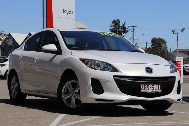 Pre-Owned Mazda 3 BL10F2 Neo Albion, 2012 Mazda 3 BL10F2 Neo White 6 Speed Manual Sedan