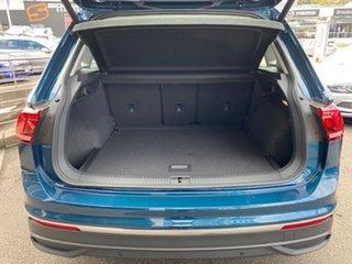 2021 Volkswagen Tiguan 5N MY21 110TSI Life DSG 2WD Night Shade Blue Metallic 6 Speed
