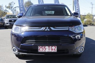 2012 Mitsubishi Outlander ZJ MY13 LS 4WD Sapphire Blue 6 Speed Constant Variable Wagon