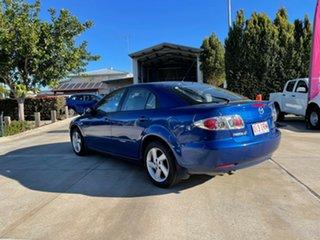 2005 Mazda 6 GG 05 Upgrade Classic Blue 6 Speed Manual Hatchback