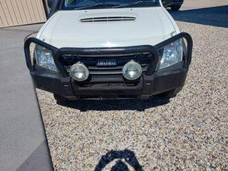 2011 Isuzu D-MAX MY11 SX White 4 Speed Automatic Utility.