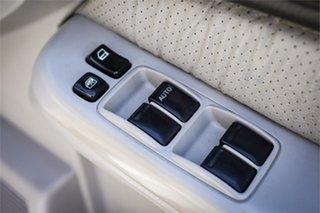 2003 Nissan Patrol GU III MY2003 ST-L White 5 Speed Manual Wagon