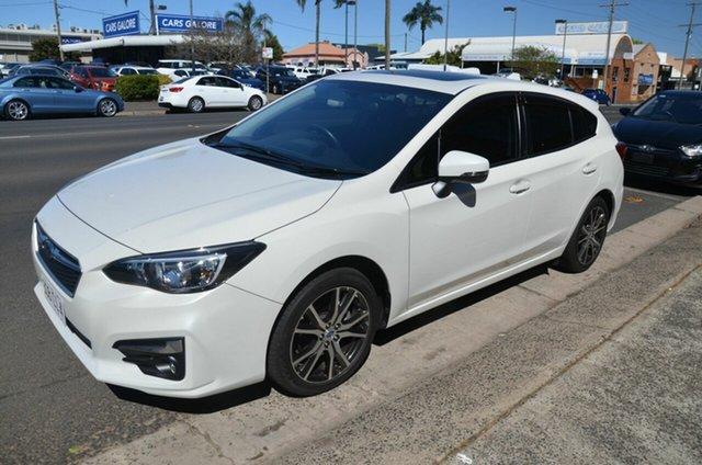 Used Subaru Impreza MY17 2.0I Premium (AWD) Toowoomba, 2017 Subaru Impreza MY17 2.0I Premium (AWD) White Continuous Variable Hatchback
