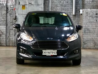 2016 Ford Fiesta WZ Sport Grey 5 Speed Manual Hatchback.
