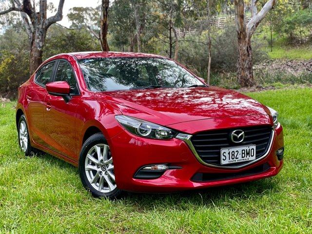 Used Mazda 3 BM5276 Neo SKYACTIV-MT Reynella, 2016 Mazda 3 BM5276 Neo SKYACTIV-MT Red 6 Speed Manual Sedan